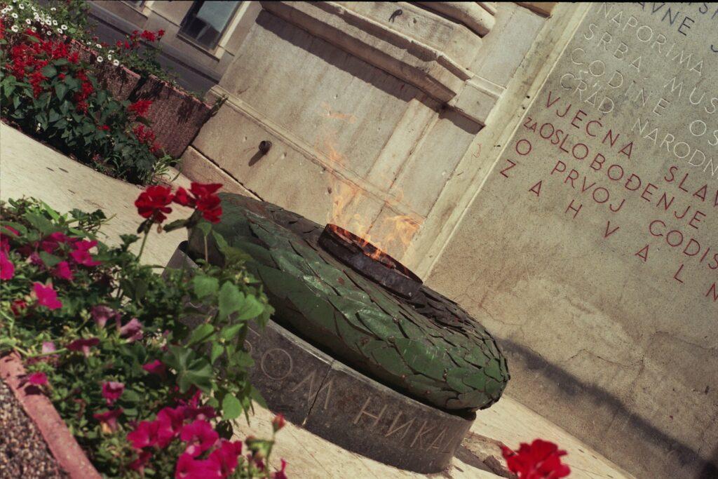 Sarajevo eternal flame